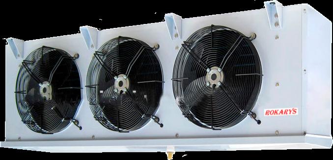 Среднетемпературные воздухоохладители ROKARYS